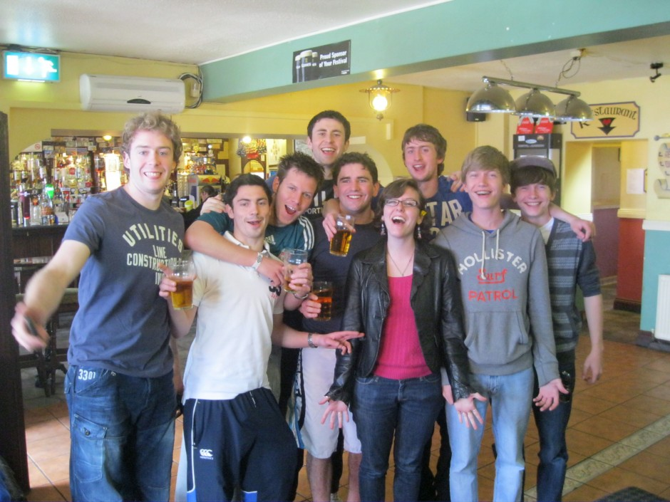 Our new friends from the pub in Milton Malbay, on the Western coast of Ireland